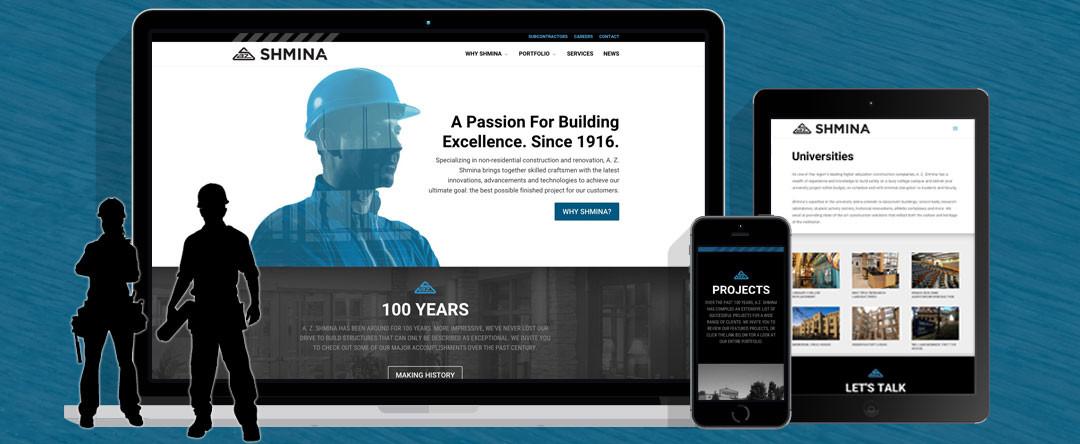Constructing a Website for A.Z. Shmina